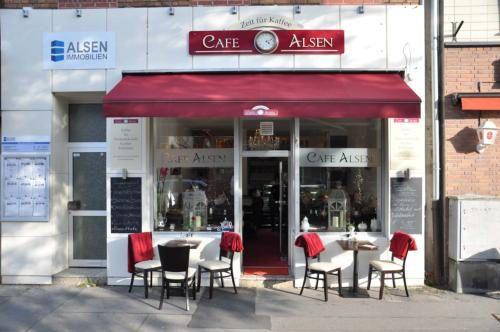 CAFÉ ALSEN // vegnes Frühstücksangebot mit Milchalternativen, Teespezialitäten & Kuchen //  ★(★) http://www.cafe-alsen.de