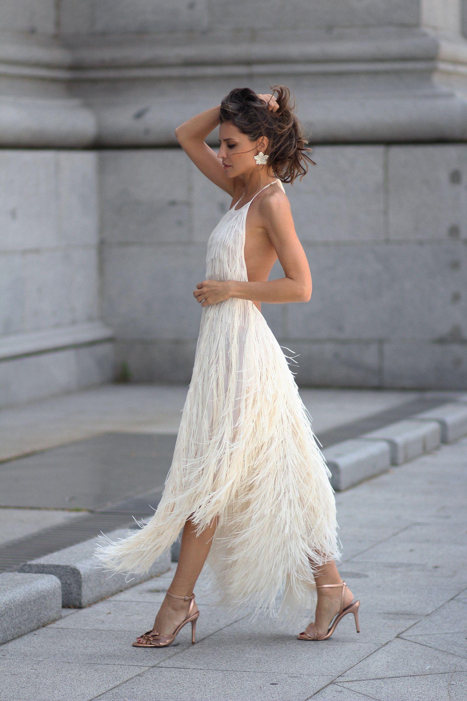 6d6f310a0f El vestido de flecos de Zara looks - Lady Addict