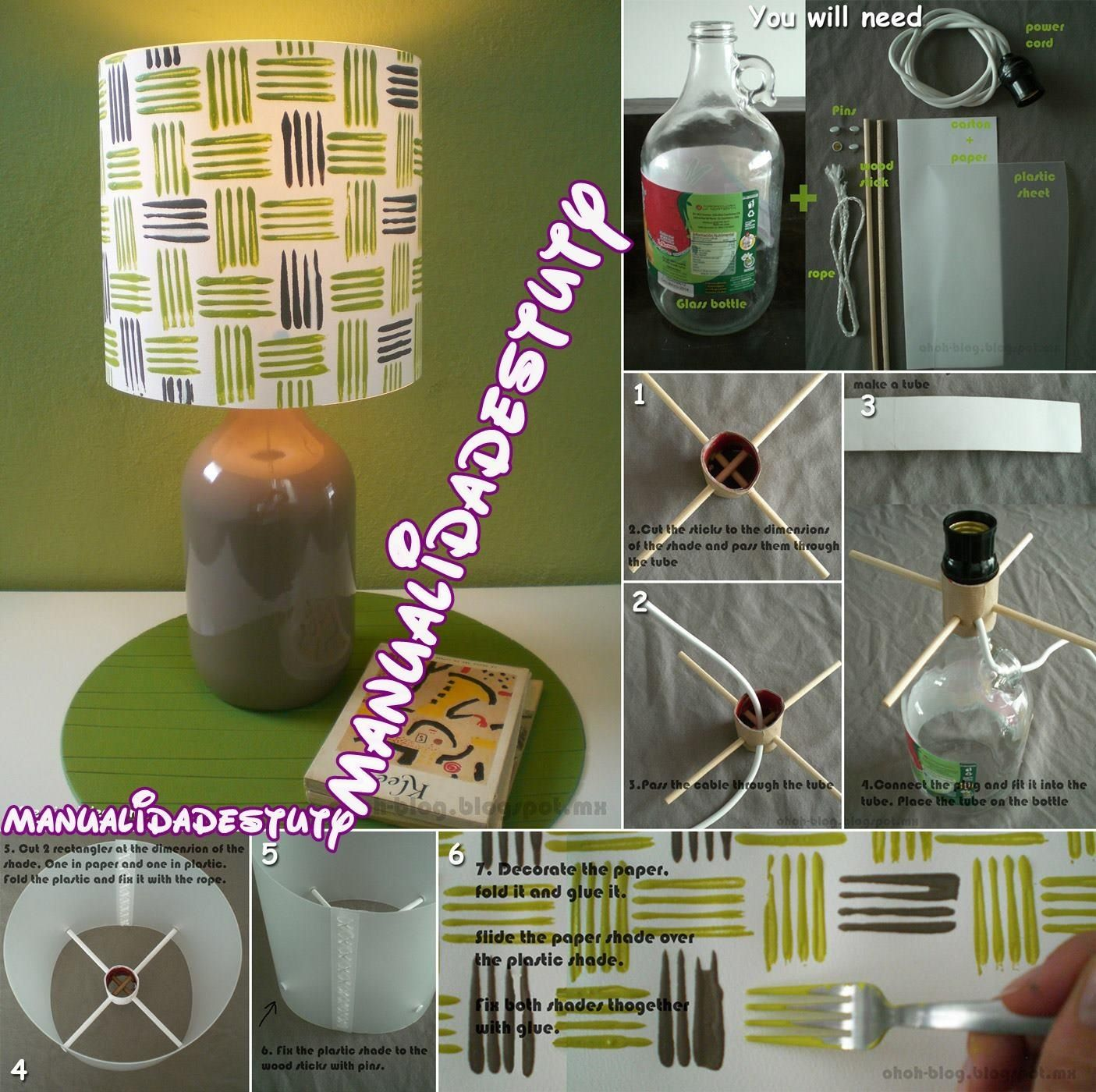 Diy Lamp Bottle Wine Bottle Lamp Old Wine Bottle Diy Lighting