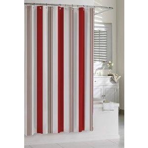 Cabana Stripe Kassatex Shower Curtain Shower Curtain Kassatex
