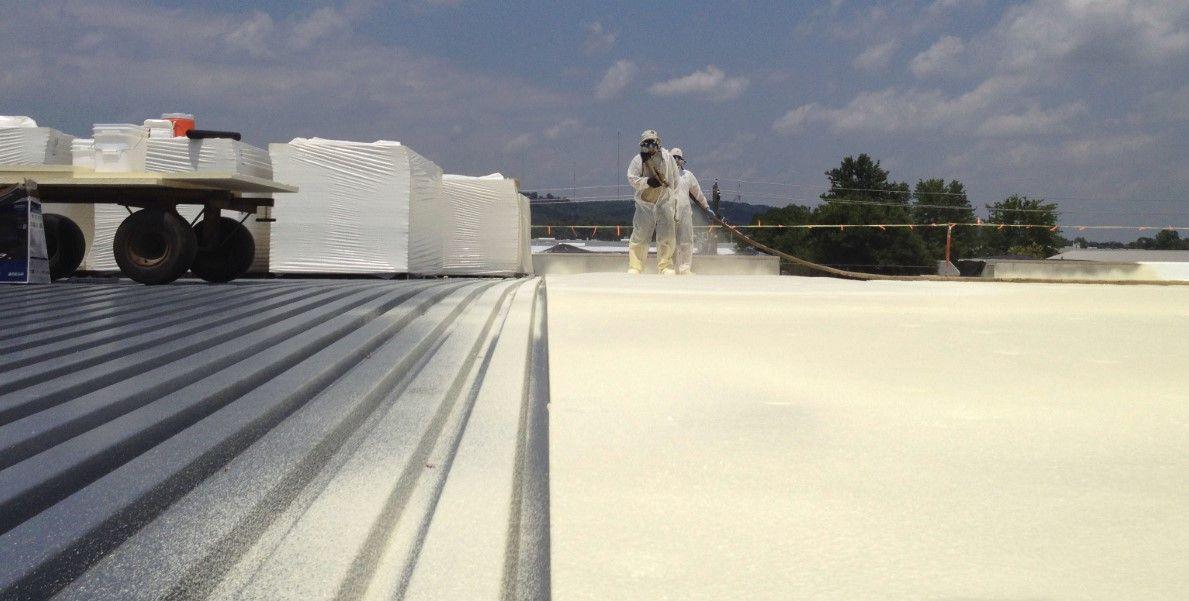 Spray Applied Foam Roofing Foam Roofing Roof Restoration Spray Foam Roofing
