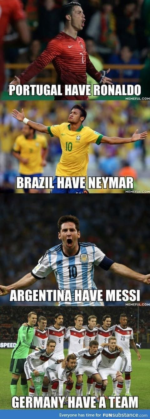 Why Germany won the world cup #SoccerMadeinGermany