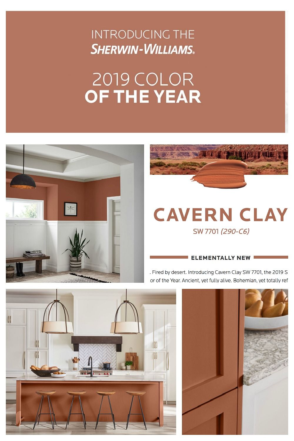 2019 Colors Of The Year Cabinet Paint Colors Paint Colors For