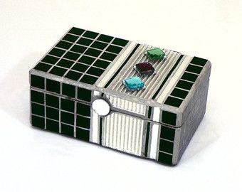 Image result for black mosaic box Mosaic art Pinterest Mosaics