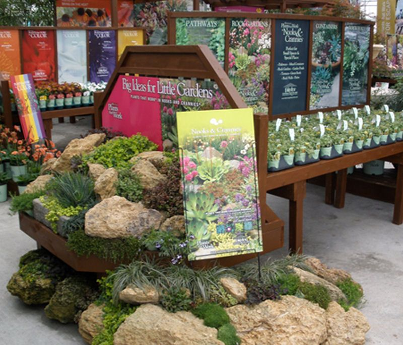 Image Result For Visual Display Garden Center: What A Great Retail Display - Rockery Plants