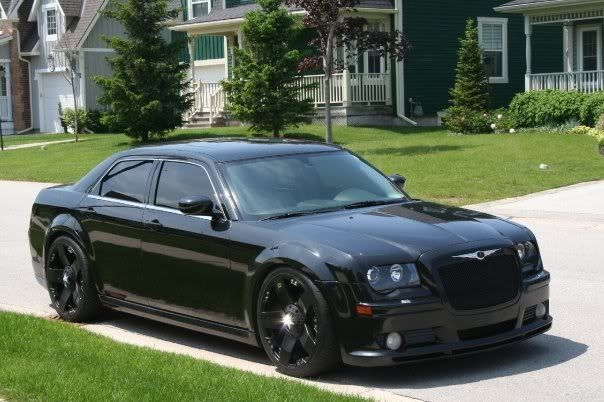 Chrysler 300 Blacked Out Dear Mitchel This Will Be What Ours