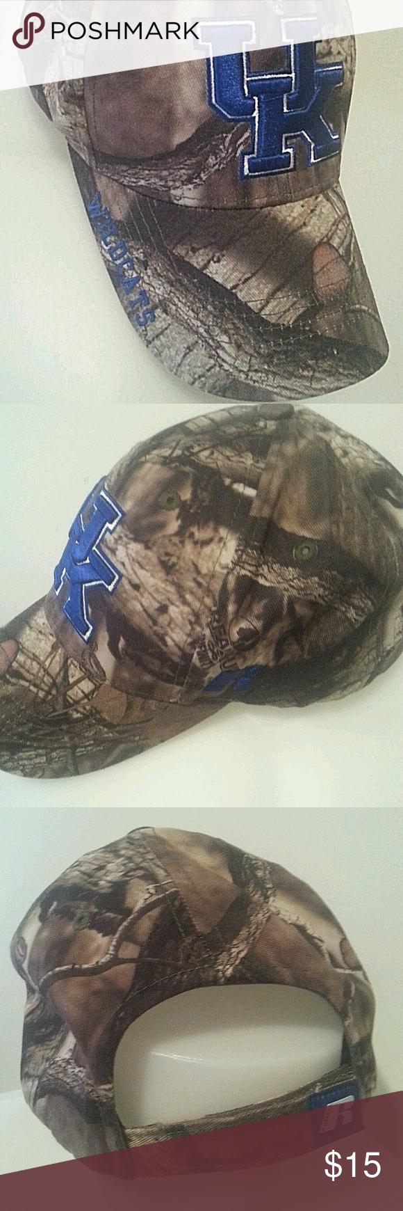 University of Kentucky Wildcats Camo Hat University of Kentucky Wildcats  Russell Athletic Camo Hat One Size Russell Athletic Accessories Hats 1643713a19cf