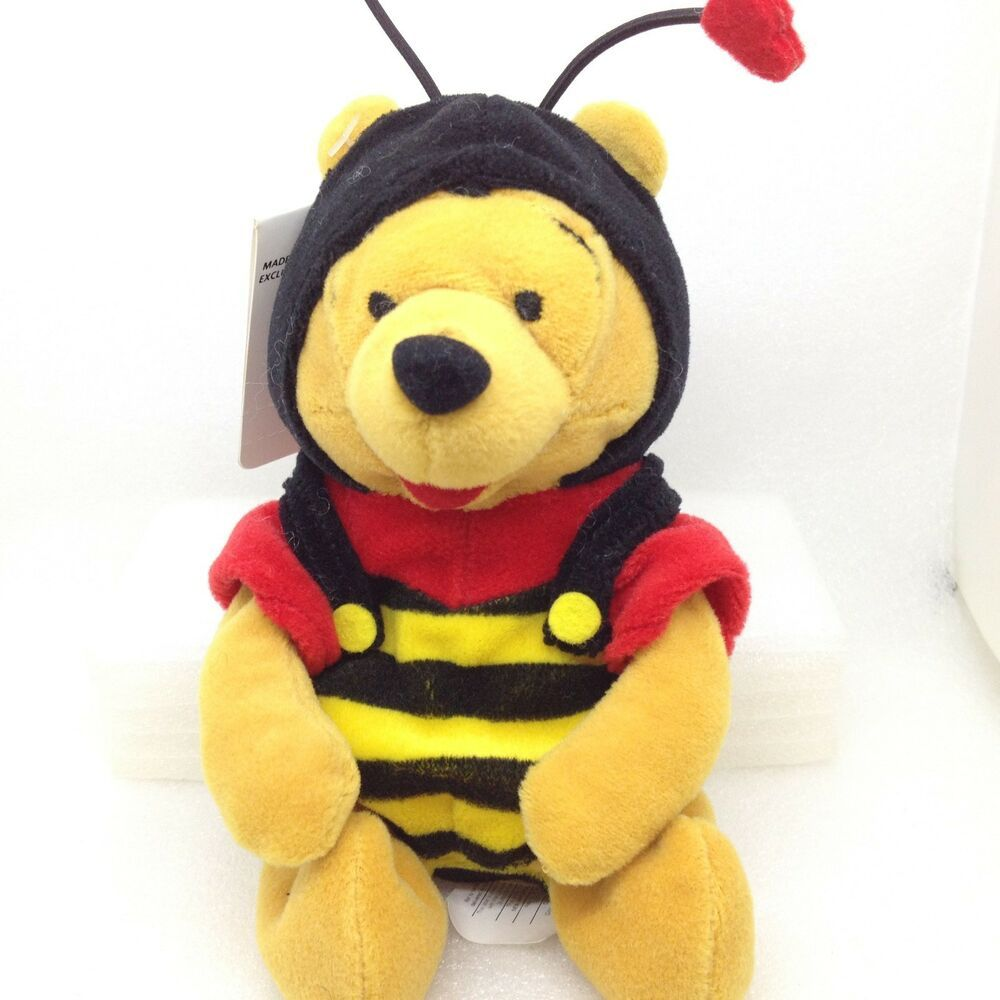Stupendous Disney Bean Bag Plush Winnie The Pooh Bumble Bee Valentine Forskolin Free Trial Chair Design Images Forskolin Free Trialorg