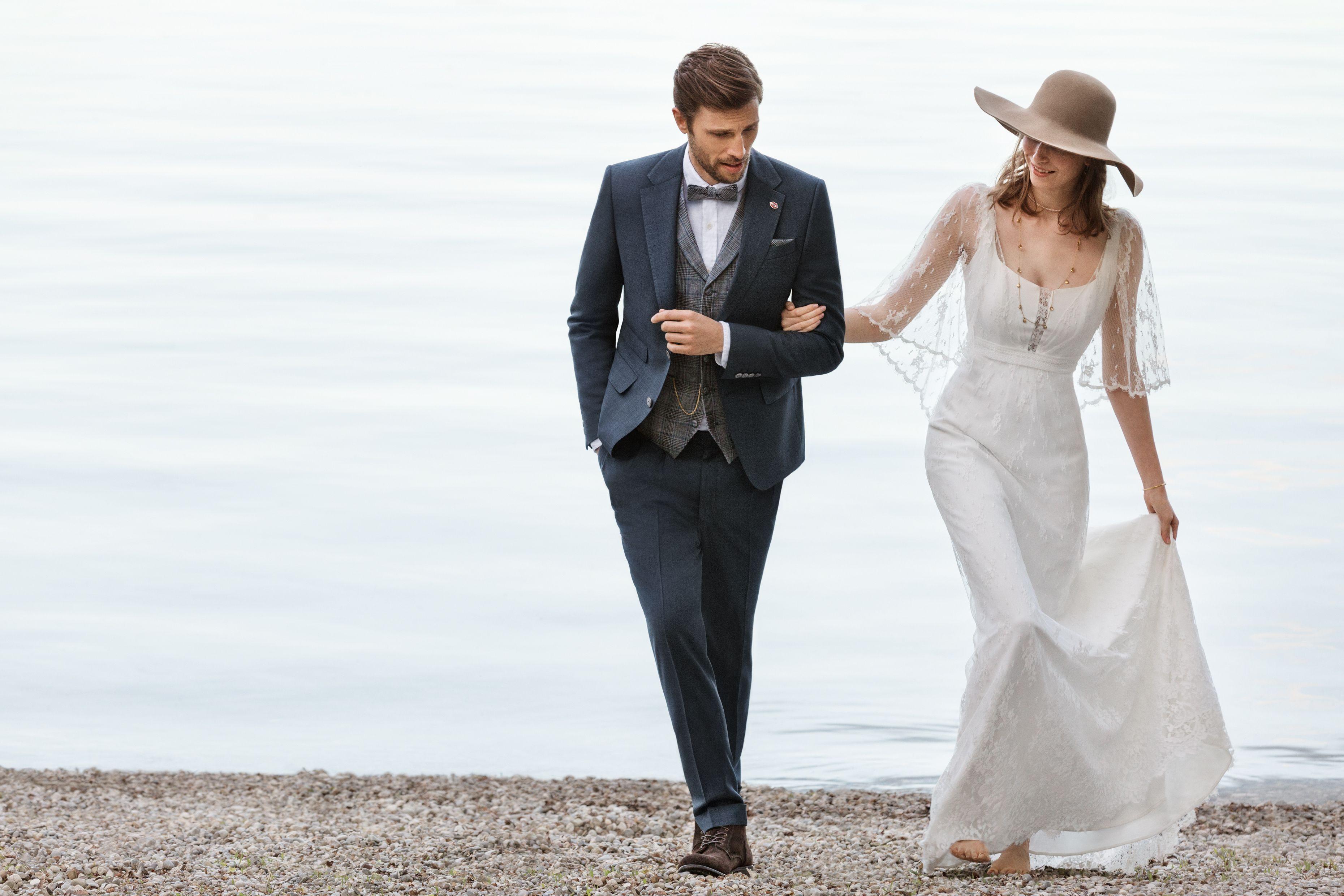 Perfekt Fur Eine Hochzeit Im Vintage Look Hochzeitsanzug Mit
