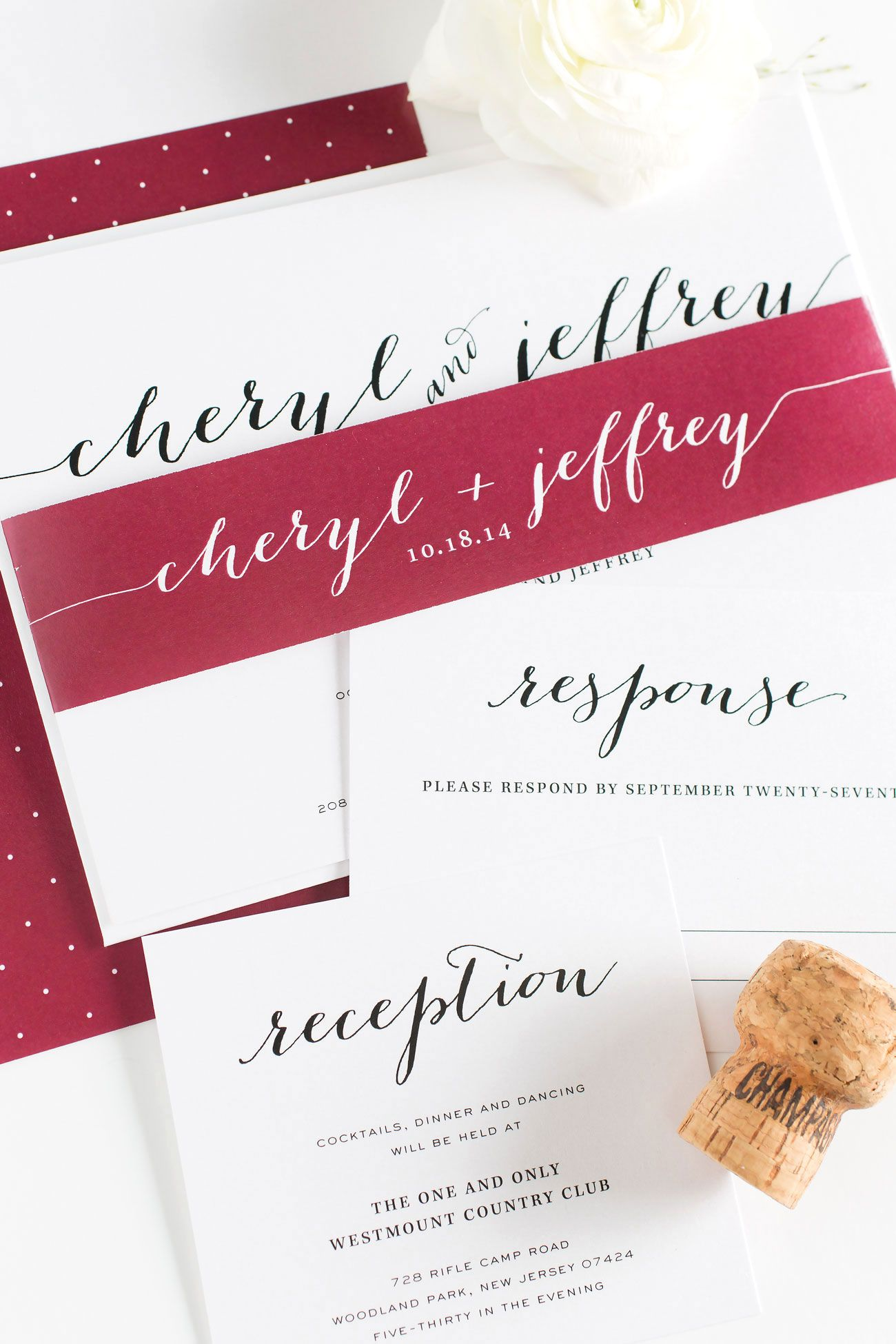 Burgundy Wedding Invitations | Pinterest | Wedding, Cheap wedding ...