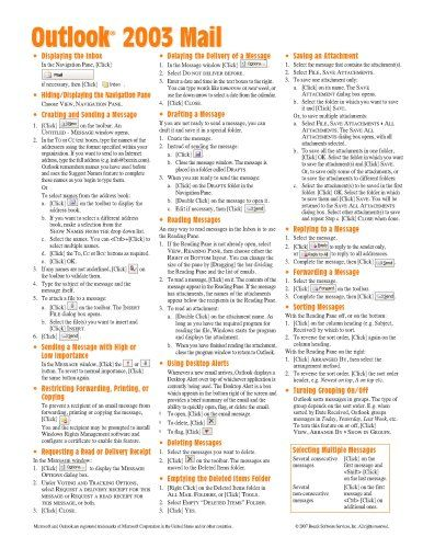 Microsoft Outlook Shortcuts Cheat Sheet Microsoft Outlook - excel spreadsheet compare office 2016