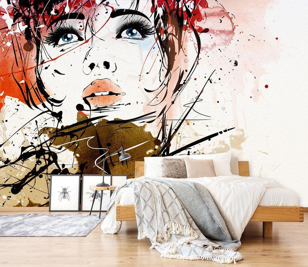 Customize Wall Mural Salon Wall Art Wall Painting Decor Mural