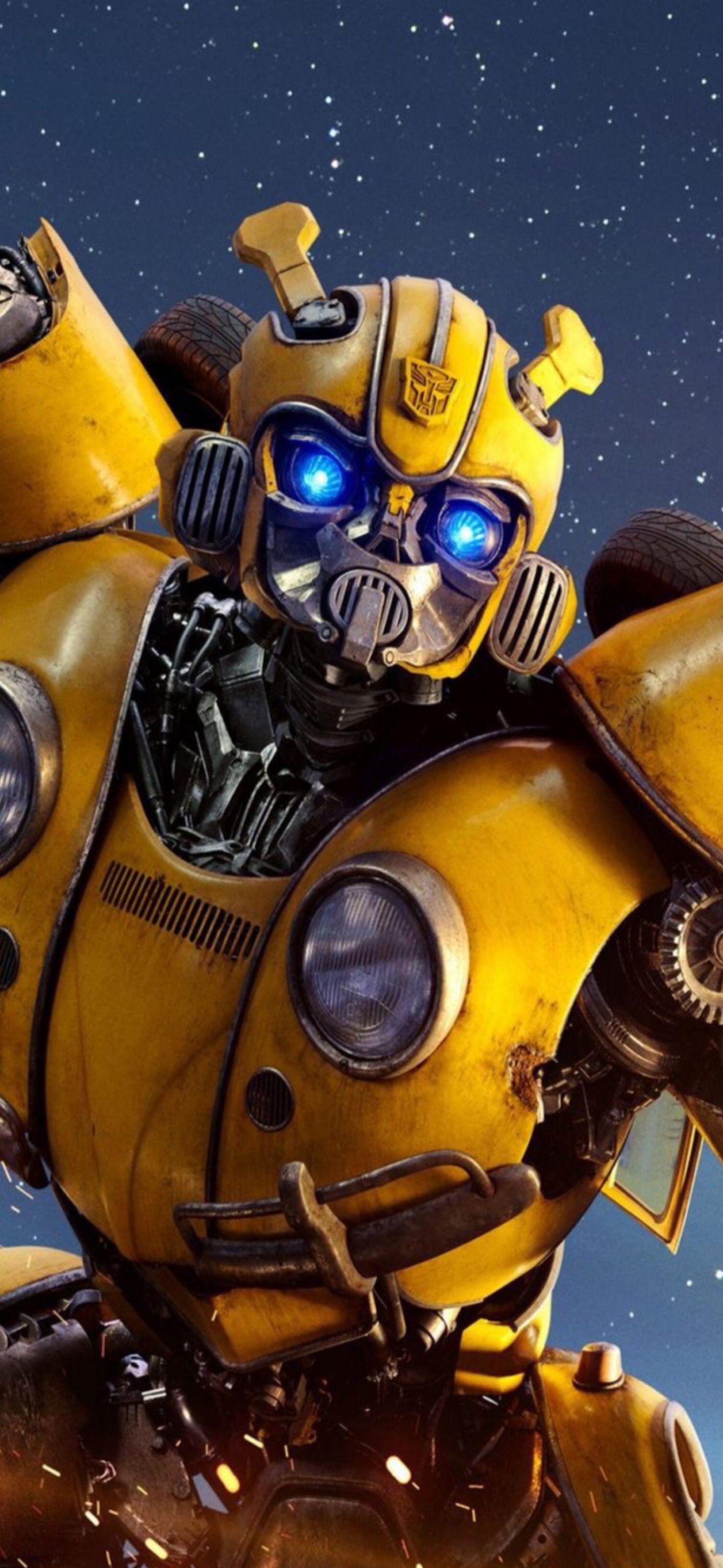 Wallpaper Transformer Bumblebee - Resized Iphone X Ben