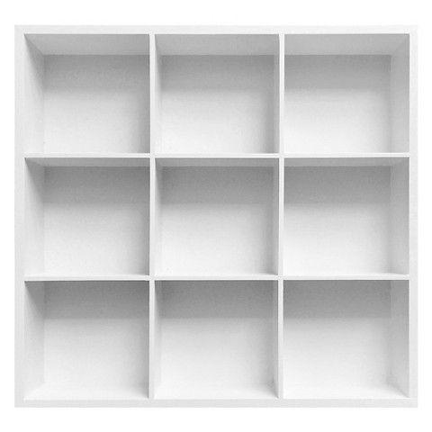 9 Opening Cubby Shelving Unit White 20x20 Shelving Unit Cubbies Room Essentials