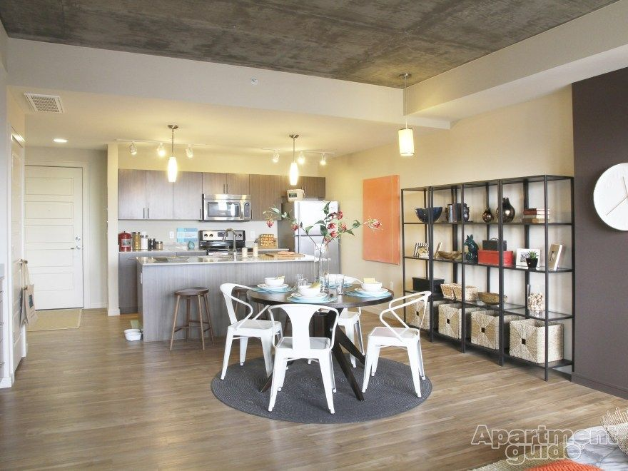 Hardwood Floors Stainless Steel Appliances? Yes, Please! | Cadence Union  Station #Apartments