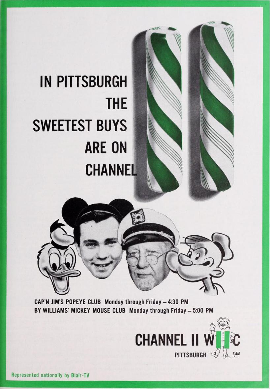 WIIC Channel 11 Pittsburgh Popeye