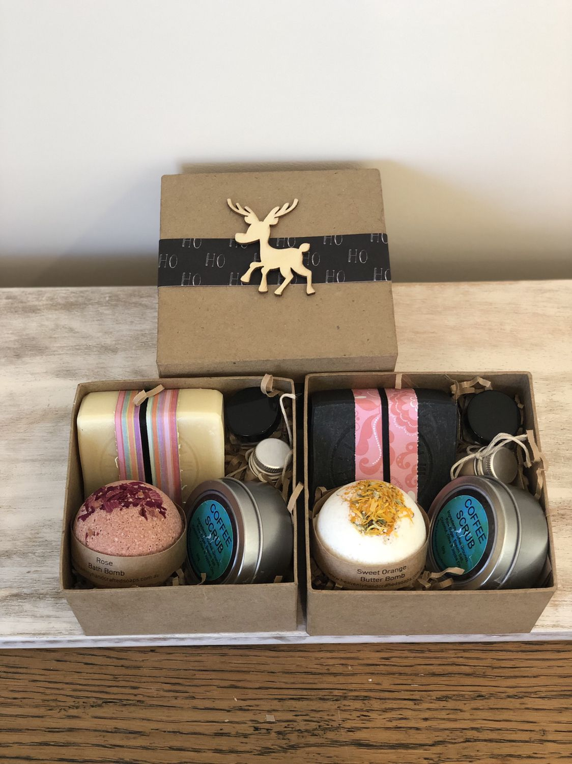 Custom pamper kits handcrafted soaps natural soap