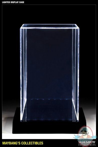 Lighted Display Case For 12 Inch 1 6 Figures Or Statues Man Of Action Figures Display Case Figurine Display Light Display