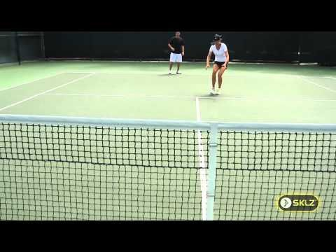 Tennis Drill Reaction And Agility Drill Tennis Tennis Drills Tennis Workout