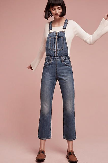 Levi's Ultra High-Rise Overalls   In Gold Rush-era San Francisco, Levi Strauss invented the blue jean as a durable workwear garment. Nearly 150 years later, the brand continues to set the bar for the industry and is responsible for denim's most recognizable trends. Each iconic Levi's silhouette is at once nostalgic and contemporary - and built to last. A modern take on an all-American classic, this pair of overalls comes with an ultra high-rise and zippered bib detail.   #casual #fashion…