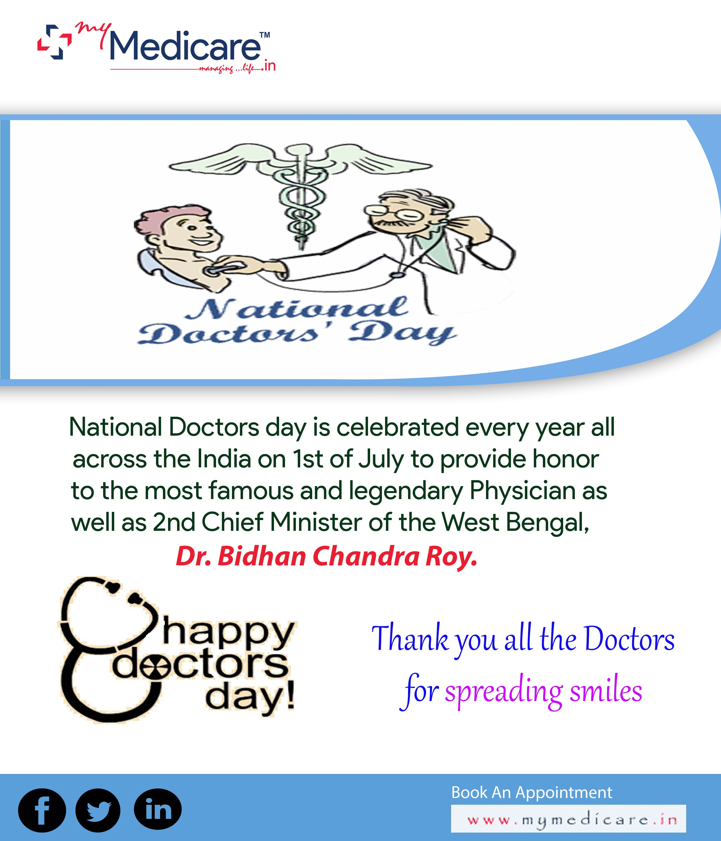 When is the doctors day Well find out
