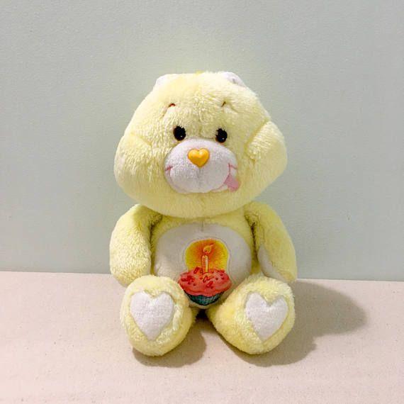 9df1a5a42 Vintage Care Bears Birthday Bear Plush | Etsy Shop - 80s & 90s Toys ...