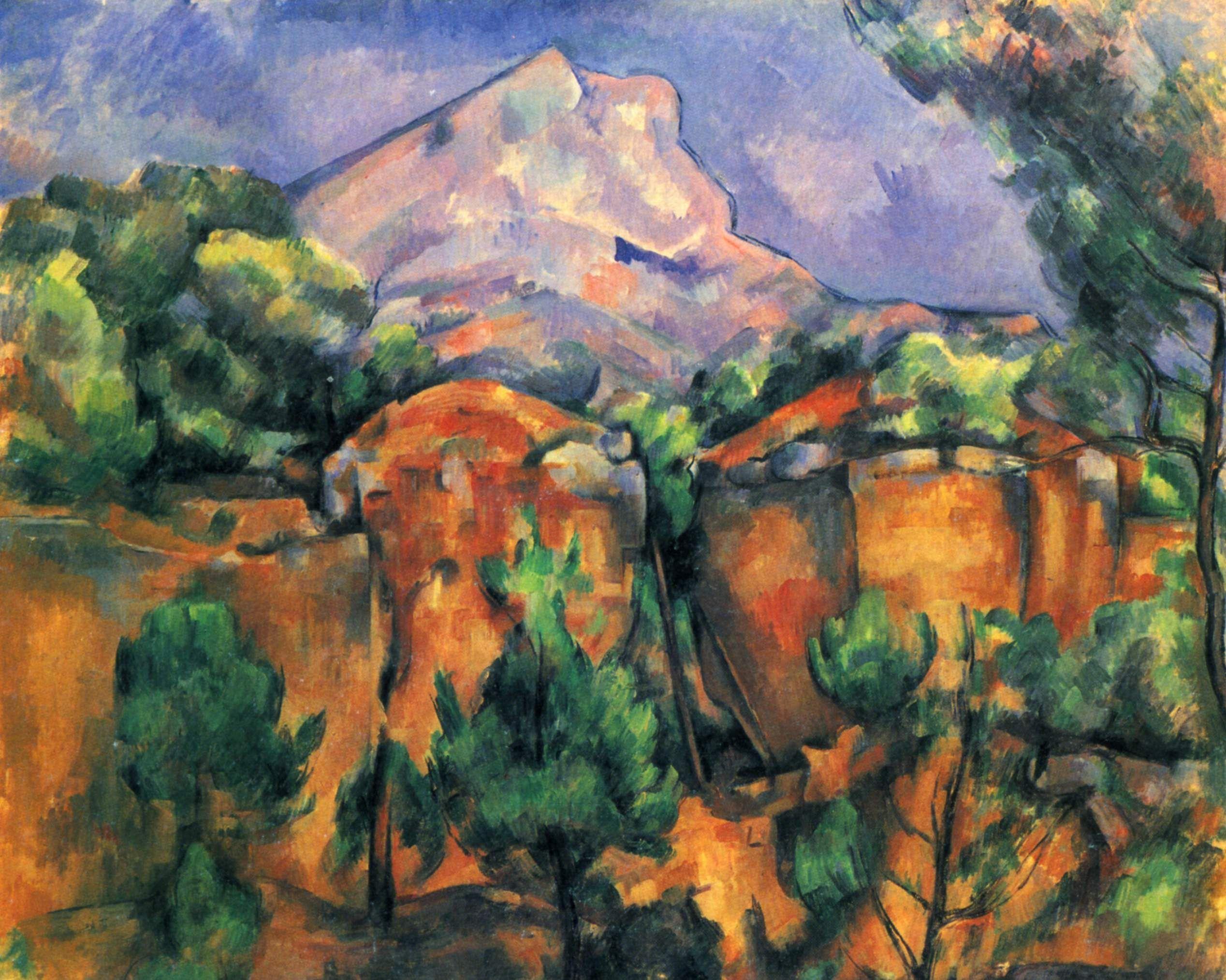 Las montañas de Santa Victoria [Serie] - Paul Cézanne