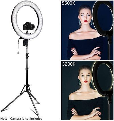 12 Inch Ring Light With Tripod Stand 1 Piece In 2020 Ring Light For Camera Led Ring Light Selfie Ring Light