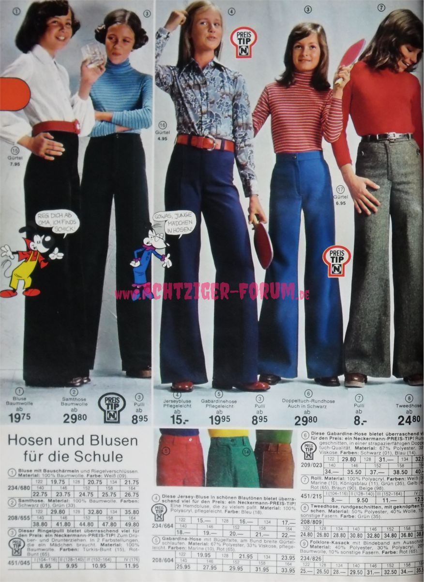 Mode F R M Dels Neckermann 1976 1977 Herbst Winter 05