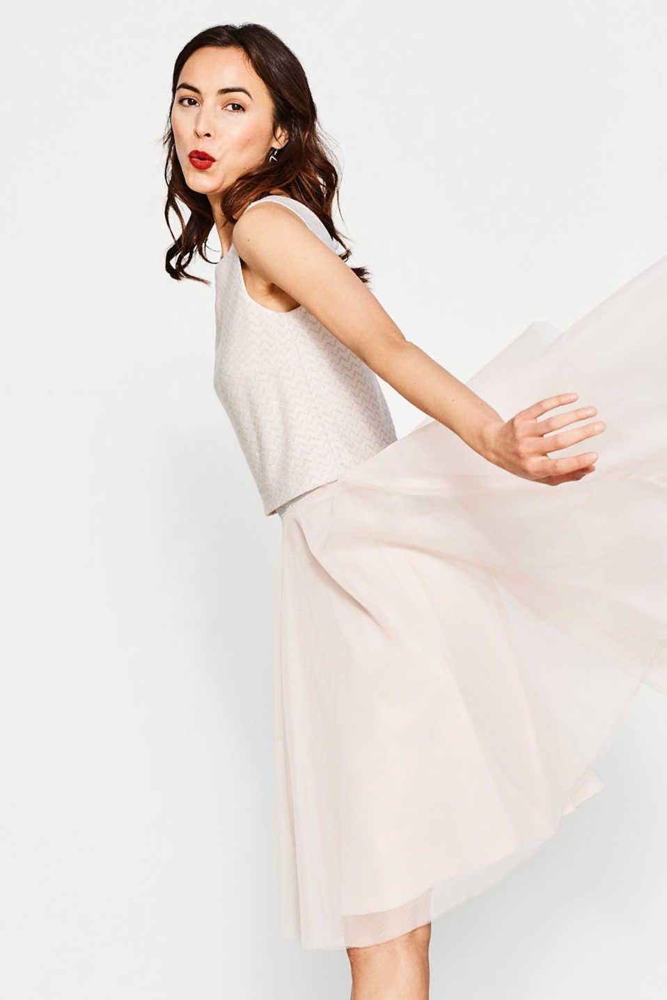 Traumhaftes Kleid aus Jersey und Tüll (mit Bildern ...