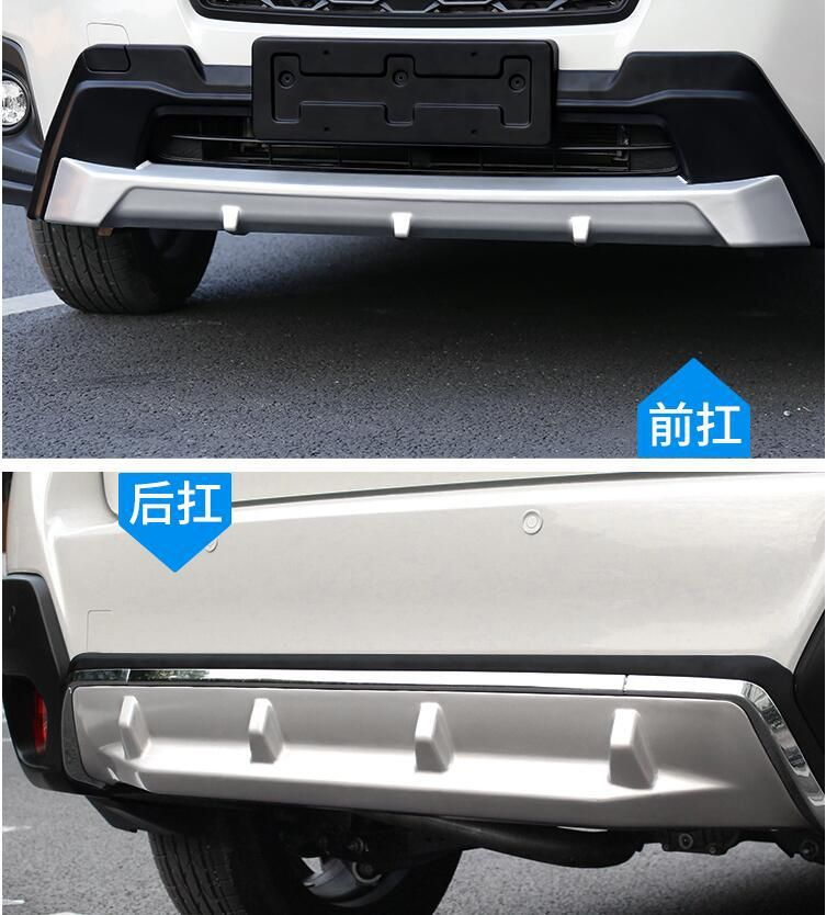 JIOYNG Front + Rear Bumper Diffuser Protector Guard Skid