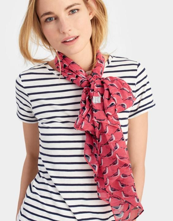 030ddd5e9 Wensley Scarf | Brit style | Soft corals, Womens scarves, Joules