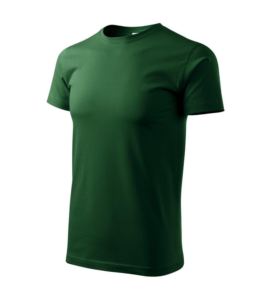 Basic T-shirt Herren Meerblau - Malfini 129 - Größe: XS