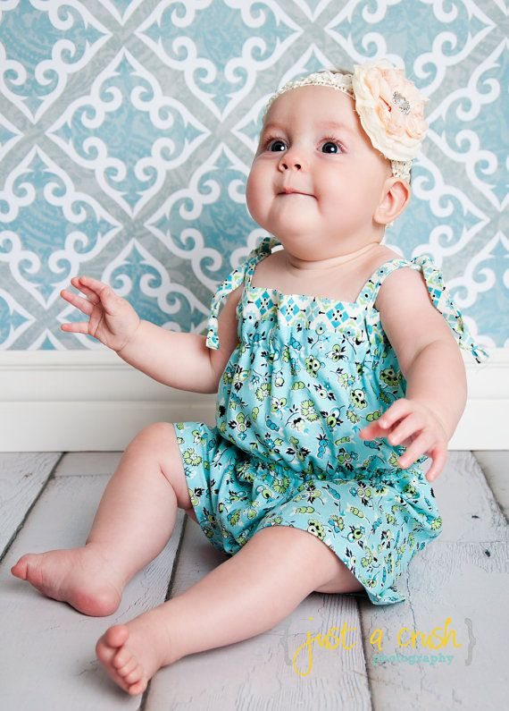 PillowCase Romper Pattern, Baby Romper Pattern, PDF sewing patterns ...