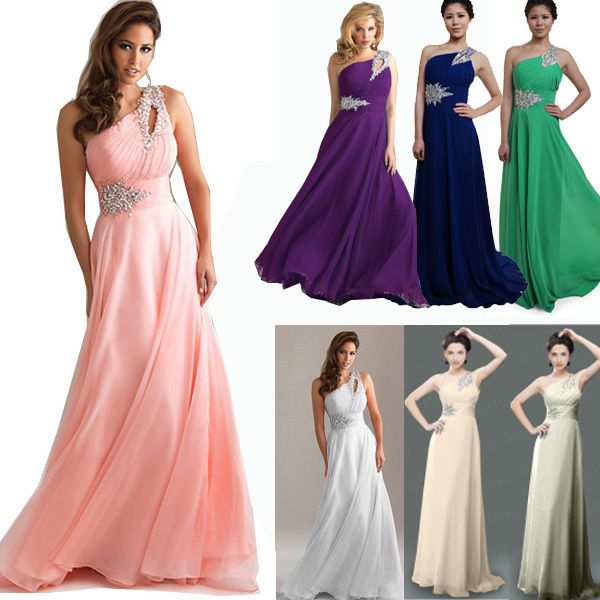 Women Wedding Bridesmaid Formal Prom Gowns Ball Long Maxi Dress Cocktail Party #Maxi #Formal
