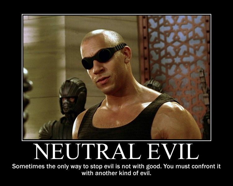 Neutral Evil Riddick by 4thehorde on DeviantArt
