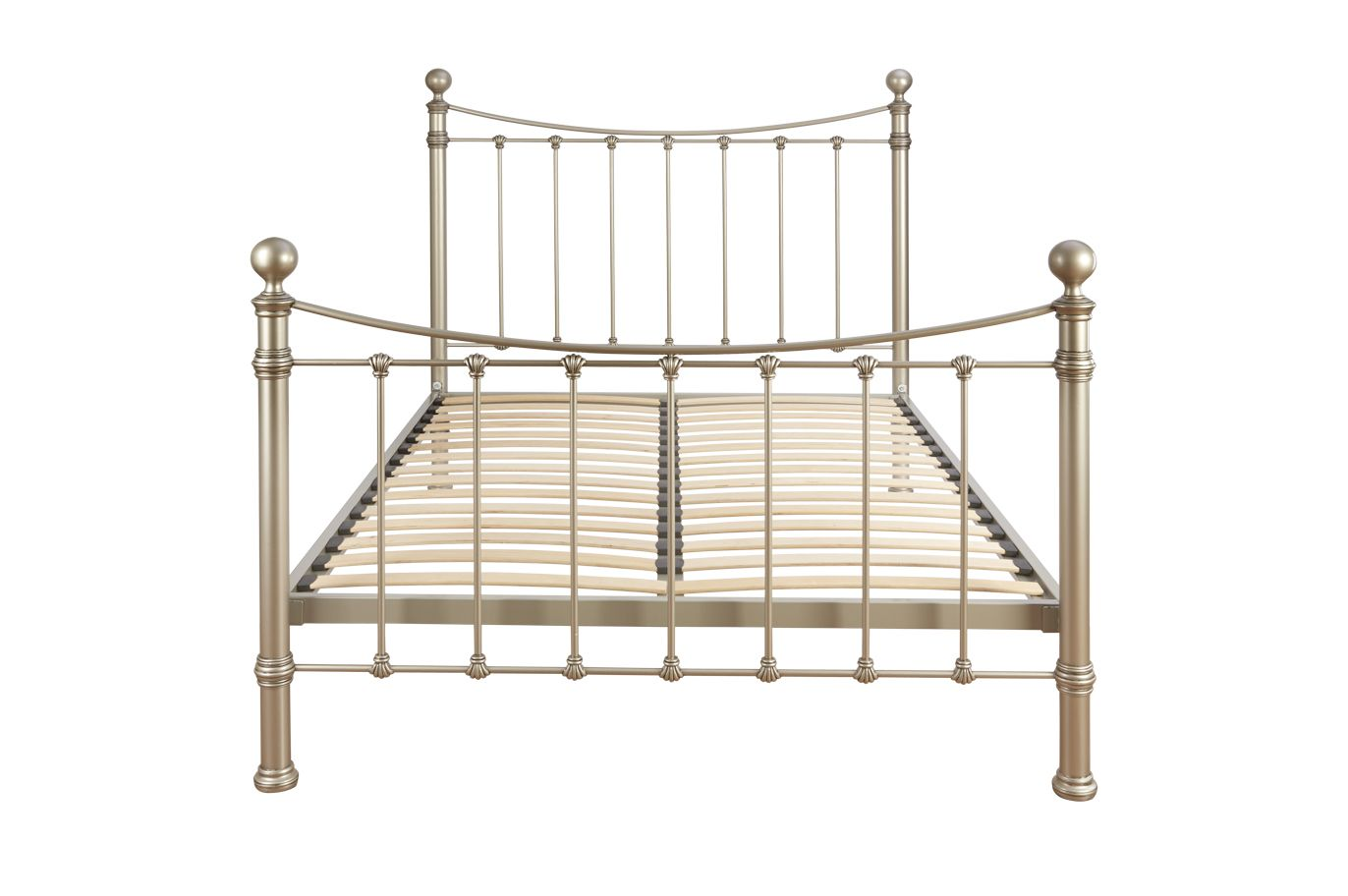 Hastings Pewter Super King Bed Frame