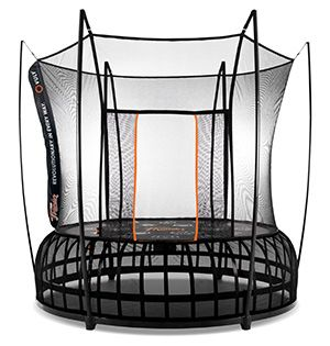 Check Out The Vuly Thunder U003eu003e The Safest Trampoline Enclosure No Solid  Surface To Crash In To Canu0027t Fall Out Soft Edged Trampoline Safe And  Reliable Ask ...