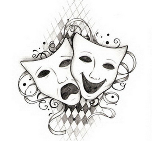 12 Week Drama Term Plan Skills Teaching Resources Drama Masks Art Theater Mask Tattoo
