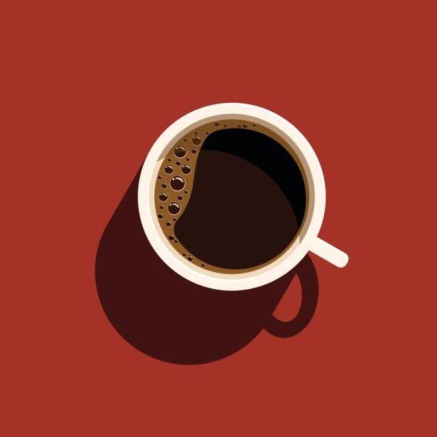 Vetores de Xícara De Café e mais imagens de Acima