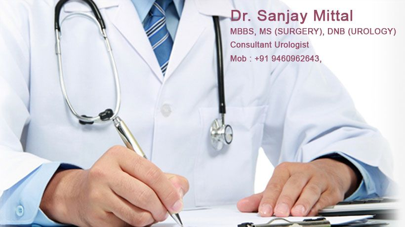 Dr  Sanjay Mittal is highly specialized in Pediatric Urology