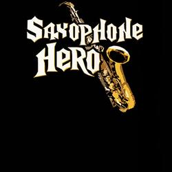 Saxophone Hero Guitar Hero Parody Funny T Shirt
