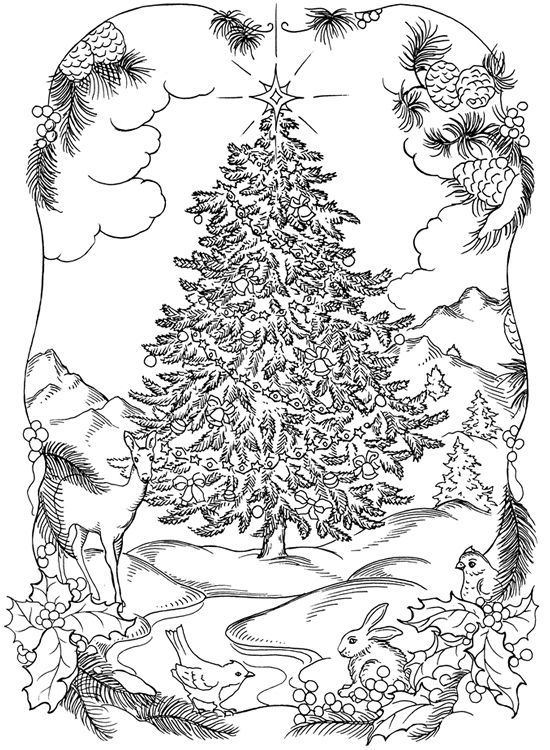 German Christmas Coloring Pages Stylizr