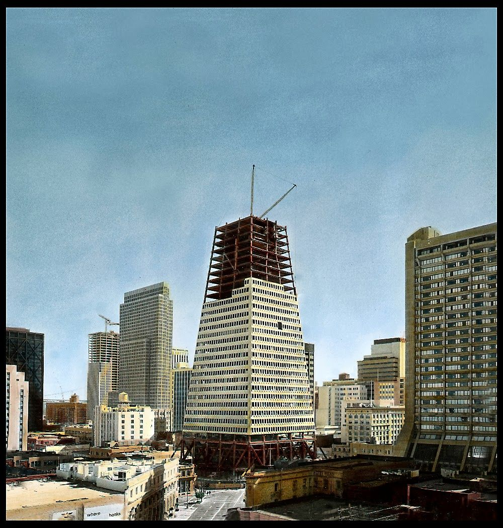 Transamerica Pyramid: never before seen shots from INSIDE the Tip of ...