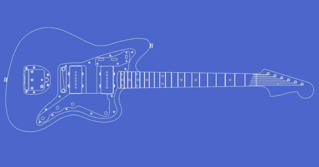 Fender Jazzmaster Guitar Templates Electric Herald Templates Guitar Guitar Diy