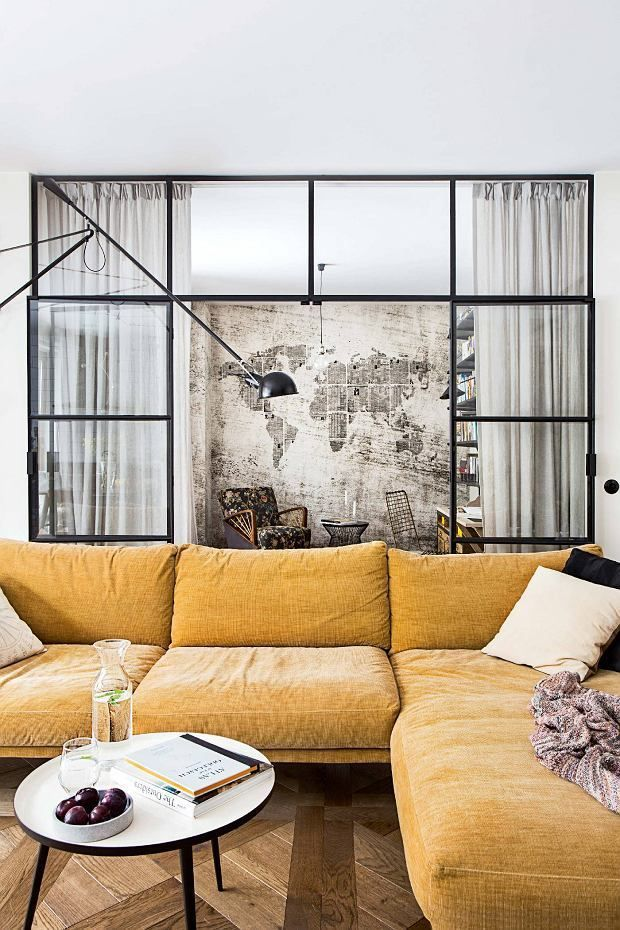 Un appartement contemporain et vintage planete deco a homes world