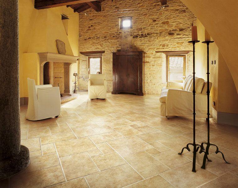 Gres smaltato cedron gold pietra di gerusalemme lea for Immagini di interni di case