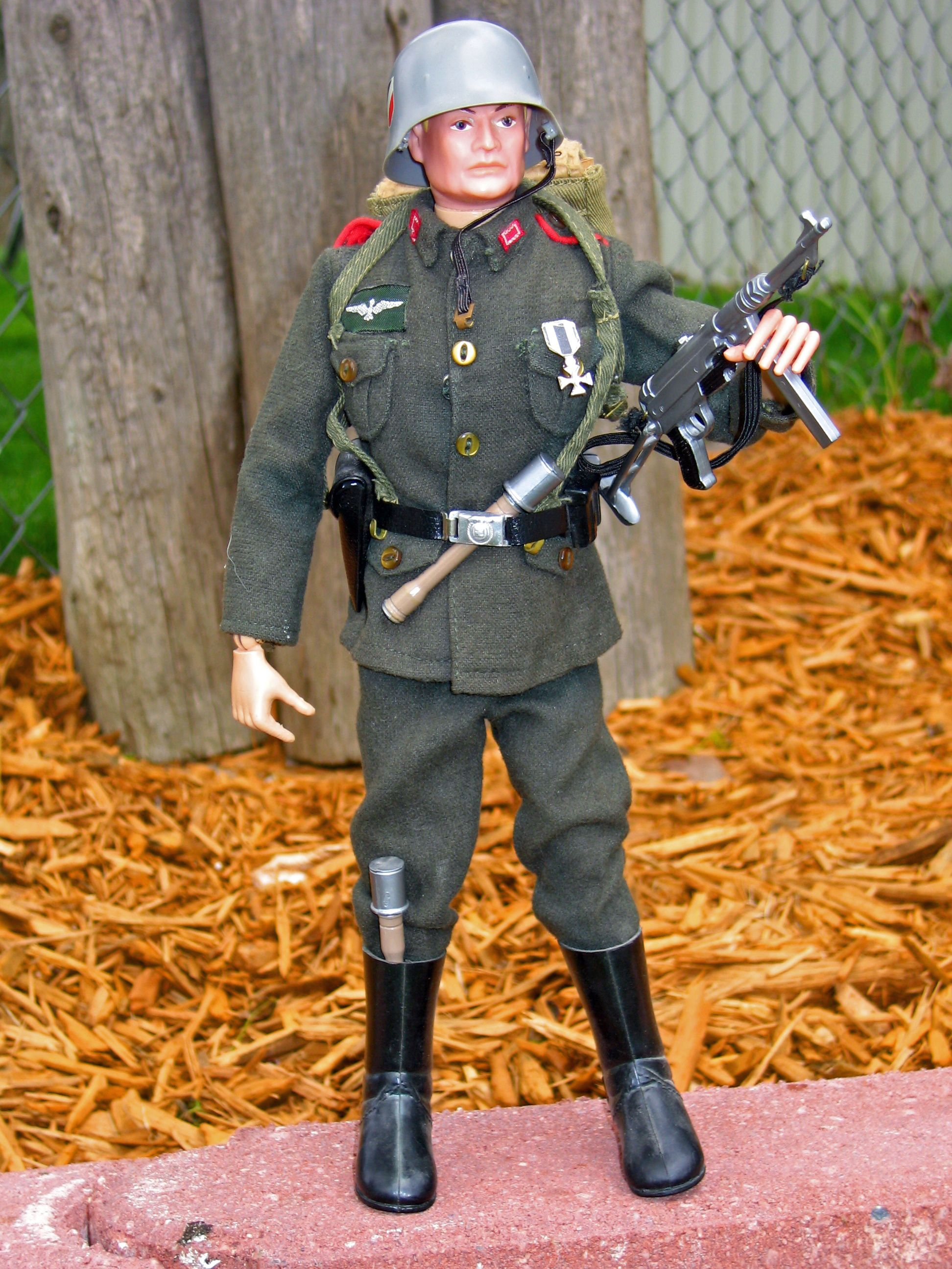 GI Joe Equipment For 12in Joe 1960/'s Canteen Made in Hong Kong