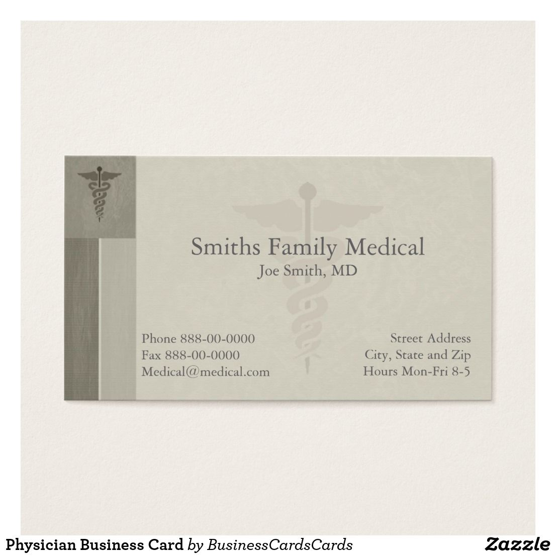 Physician Business Card | Pinterest | Business cards and Business