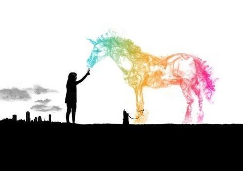 The love of a Unicorn